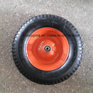 400-8maxtop Pneumatic Rubber Wheel pictures & photos