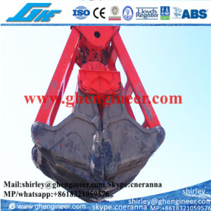 Four Ropes Clamshell Dredging Grab pictures & photos