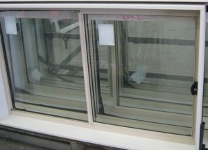 Office Aluminum Sliding Heat Insulation Windows with Reflected Glass pictures & photos