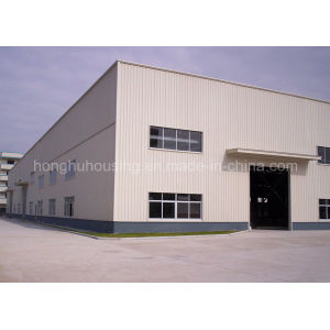 Beautiful & Easy Insullation Two-Floor Prefabricated Warehouse Workshop pictures & photos