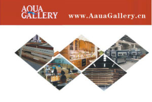 Aqua Gallery Anitque Furniture Wood Kitchen Cabinet pictures & photos