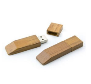 Business Gift Custom Pendrive with Engraving Logo Branded Wood Flash Drive pictures & photos
