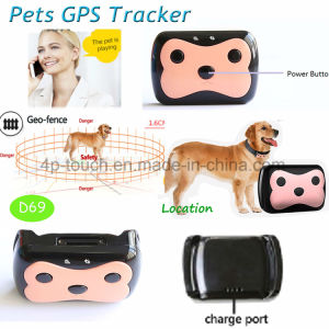 Newest Waterproof Pet GPS Tracker with Two-Way Communication D69 pictures & photos