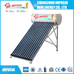 Copper Coil Pressurized Solar Heater pictures & photos