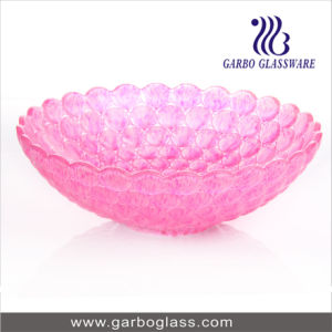 12′′ Pink Color Srpayed Fruit Bowl (GB1610YD/DGS) pictures & photos