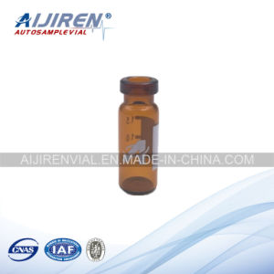 1.5ml Wide Opening Crimp-Top Vial Amber Short Vials with Write-on Spot pictures & photos