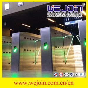 Security High Speed Entrance Gate New Design Flap Barrier Price Turnstile pictures & photos