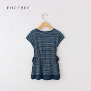 Phoebee 100% Cotton Girls Clothes Dresses for Summer pictures & photos