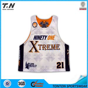 Dye Sublimation Customized Box Lacrosse Jersey pictures & photos