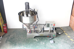 Semi Automatic Small Carbonated Drink Liquid Filling Machine pictures & photos