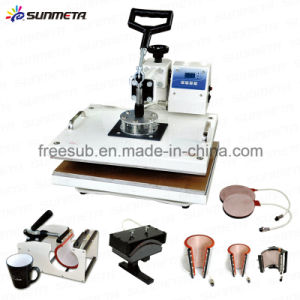 Freesub Multi-Function Sublimation Heat Press with 8 Workstations (SB-400E) pictures & photos