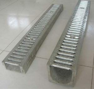 U-Shape Stamping Grating Cover Drainage Channel pictures & photos
