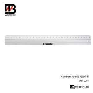 2016 School and Office Stationery Measuring Aluminum Ruler pictures & photos