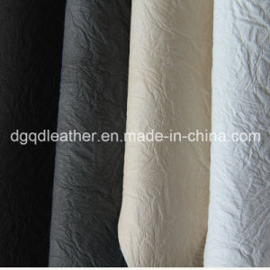 Good Colour Fastness Artificial Leather Qdl-50204 pictures & photos