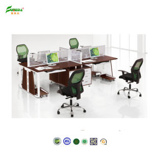 High Quality Wooden Office Furniture Worktation pictures & photos
