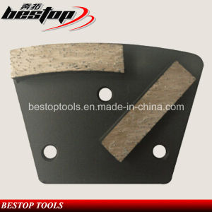 Concrete Grinding Pad Diamond Metal Grinding Disc with Double Bars pictures & photos