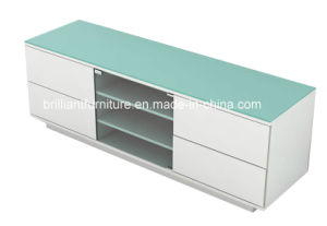 Wooden High Glossy White Paint Modern TV Stand (BR-TV2011.1)