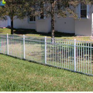 Pressed Spear Top Steel Tube Security Fence pictures & photos