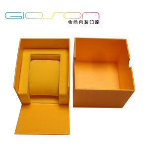 Lid & Base Paper Watch Packaging Box with Pillow Holder pictures & photos