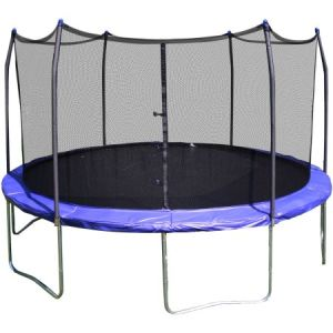 12FT Outdoor Round Sport Play Trampoline with Safety Enclosure pictures & photos