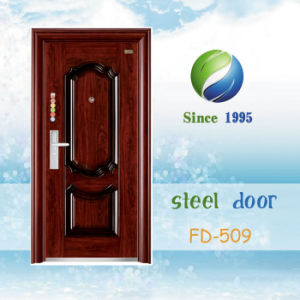 China Newest Develop and Design Single Steel Security Door (FD-509) pictures & photos