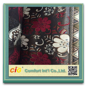 Jacquard Polyester Sofa Fabric Chenille Curtain for Sofa pictures & photos