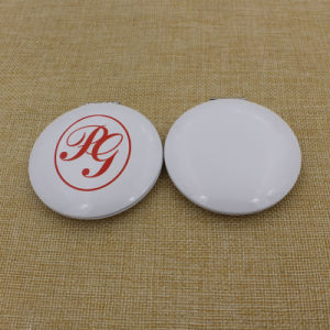 Cheapest Metal Aluminium Round Makeup/Compact/Pocket/Cosmetic Mirror with Custom Logo pictures & photos