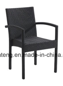Top Selling Good Quality Outdoor Garden Wicker Rattan Aluminum Furniture Coffee Set (YTA182&YTD003-16) pictures & photos