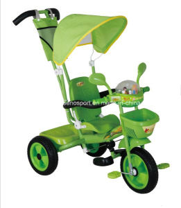 Cheap Price Plastic Baby Tricycle with Canopy (TR3400SP)