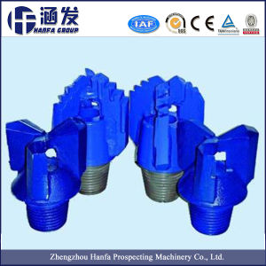 Three Wing Hard Alloy Drilling Bit for Soil, Clay, Soft Stratum pictures & photos