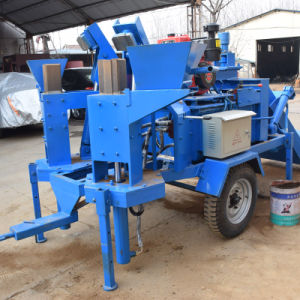 Twin Mould M7mi Hydraulic Clay Block Forming Machine pictures & photos