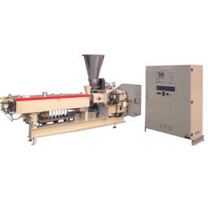 Plastic Masterbatch Compound Granulator Parallel Co-Rotating Twin Screw Extruder