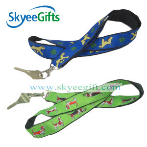 Excllent Quality Polyester Printed Lanyard pictures & photos