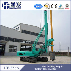 Hf856A Hydraulic Pile Top Drilling Rig for 56m pictures & photos
