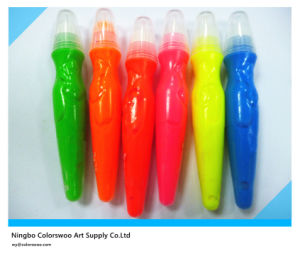 5*14ml Neon Color Tempera Paint with Brush for Students and Kids pictures & photos