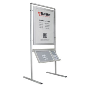 Poster Stand with acrylic Brochure Holder pictures & photos
