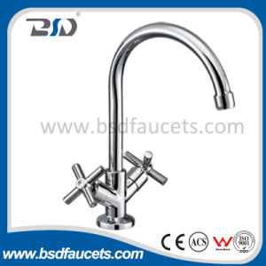 Sanitary Ware Ceramic Cartridge Water Kitchen Sink Faucet pictures & photos
