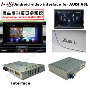 Upgrade Multimedia Android GPS Navigation Video Interface for A1/A4l/A5/A6l/A8 Support DVD/TV/Mirrorlink pictures & photos