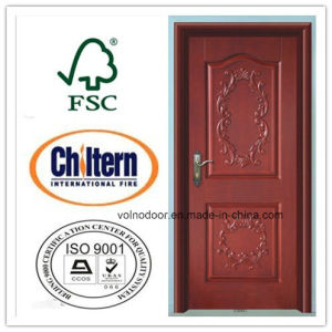 High Quality Solid Wood Door for Apartment in Crazy Market pictures & photos
