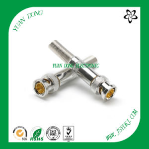 BNC Male Compression Connector Professional Connector Factory pictures & photos