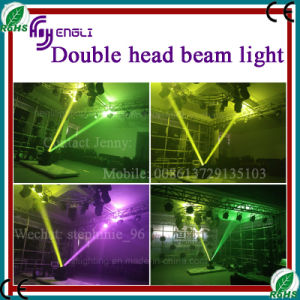 300W Double Head Beam Moving Head Stage Lighting (HL-300BM) pictures & photos
