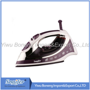 Electric Travelling Steam Iron Sf 240-793 Electric Iron with Ceramic Soleplate (Purple)