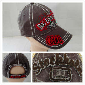 (LW15027) Custom Stone Washed Cotton Cap pictures & photos