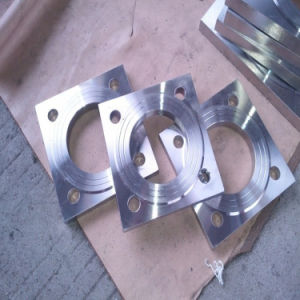 Stainless Carbon Forged Non-Standard Steel Square Flanges pictures & photos