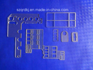 Plastic Products Polycarbonate PC Sheet CNC Machining (QRD-076)