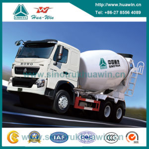 Sinotruk HOWO T7h 390HP 6X4 Mixer Truck 12cbm pictures & photos