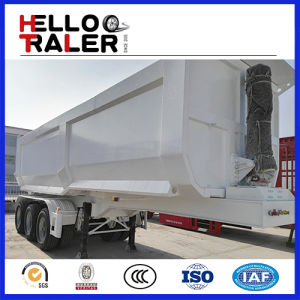 3 Axle 60 Ton Hydraulic Cylinder Dump Trailer pictures & photos