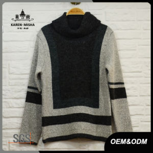 Ladies Basic Style Turtleneck Sweater pictures & photos