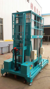 Aluminium Aerial Work Platform / Vertical Aerial Work Platform /Scissor Lift pictures & photos