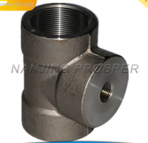 Female Threaded /Screwed Steel Tee/ Pipe Fittings pictures & photos
